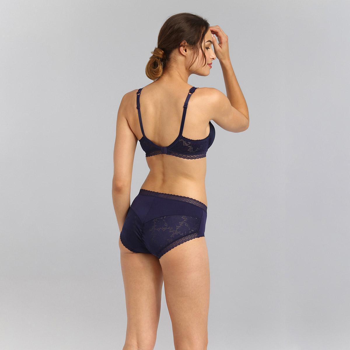 Balcony bra in navy blue Invisible Elegance, , PLAYTEX