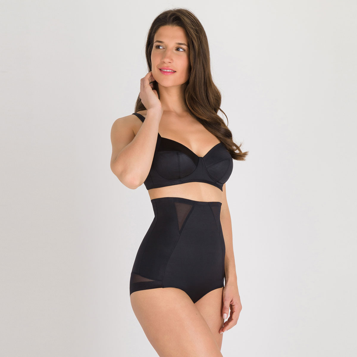 Non-wired Bra in Black – Perfect Silhouette-PLAYTEX