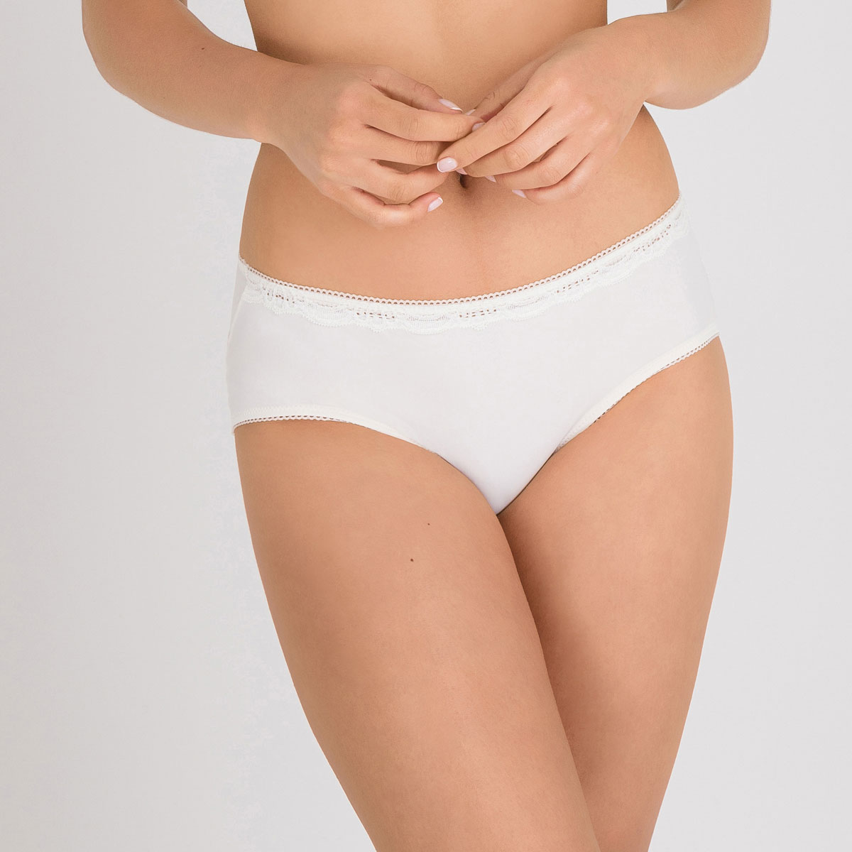 Midi Brief in Ivory – Invisible Elegance-PLAYTEX