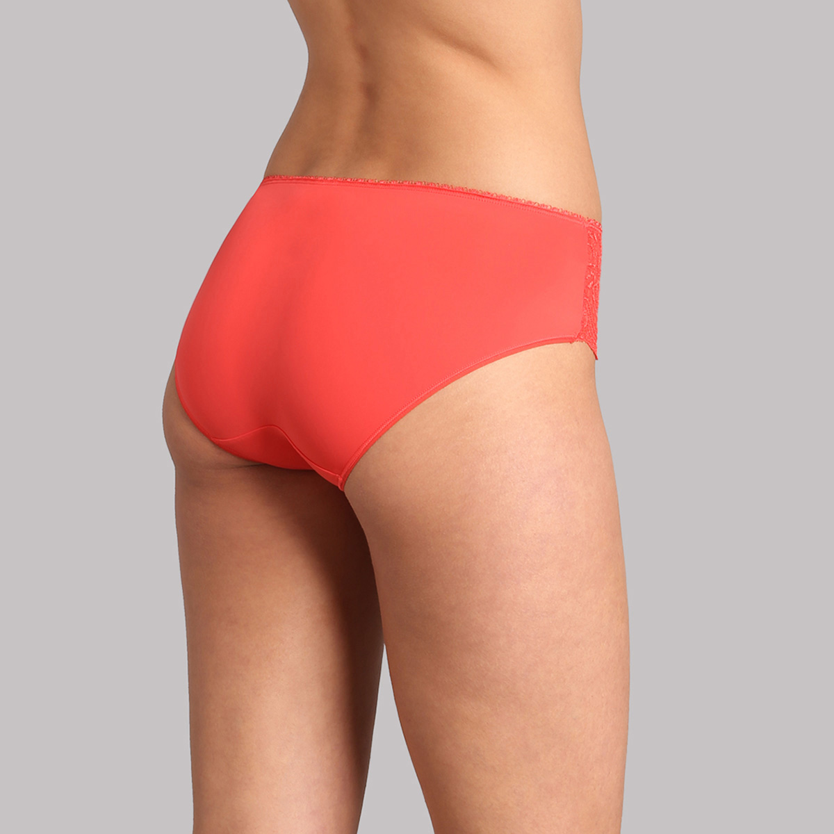 Midi knickers in coral lace - Flower Elegance, , PLAYTEX