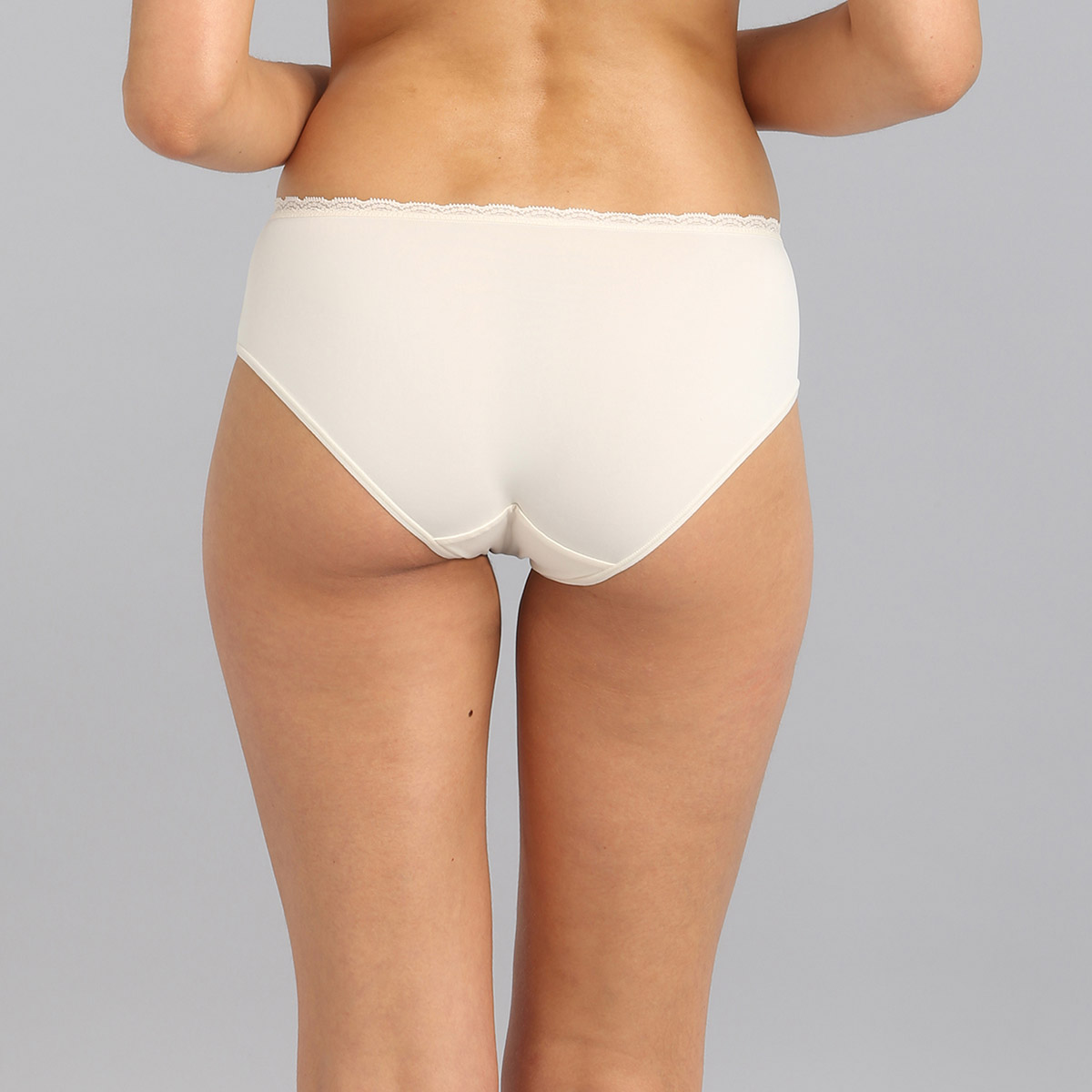 Midi knickers in antique white Ideal Posture, , PLAYTEX