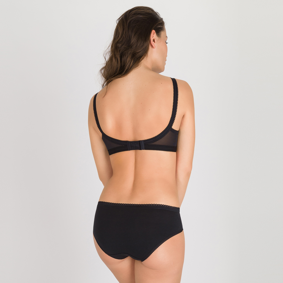 Non-wired Bra in Black – Cross Your Heart 165, , PLAYTEX