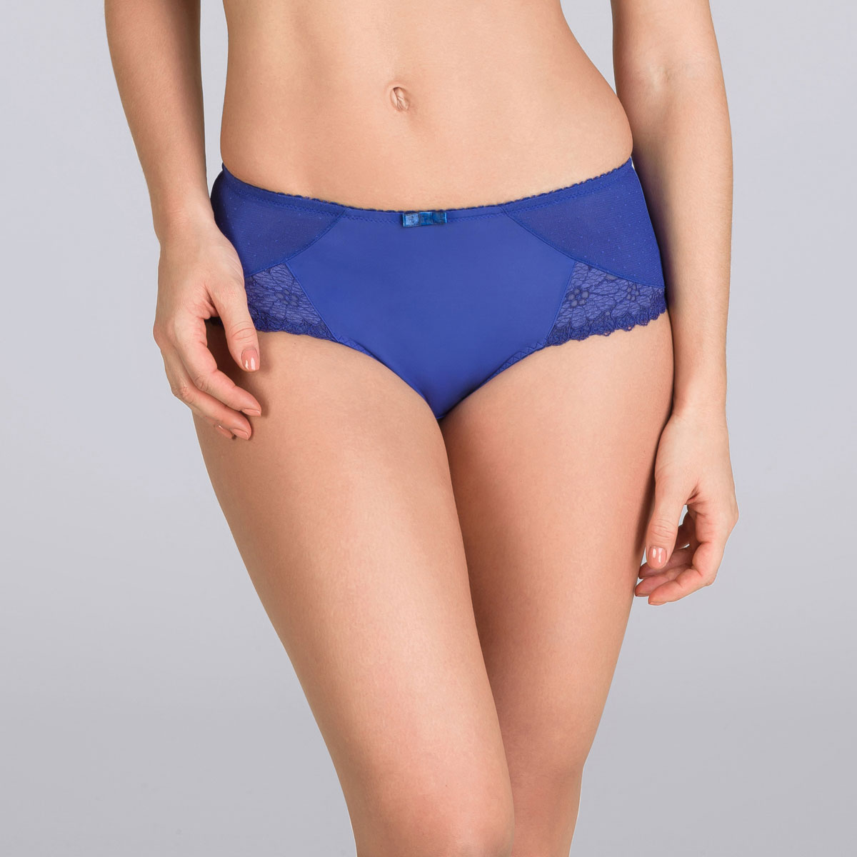 Midi Brief in Dark Blue – Classic Lace Support-PLAYTEX