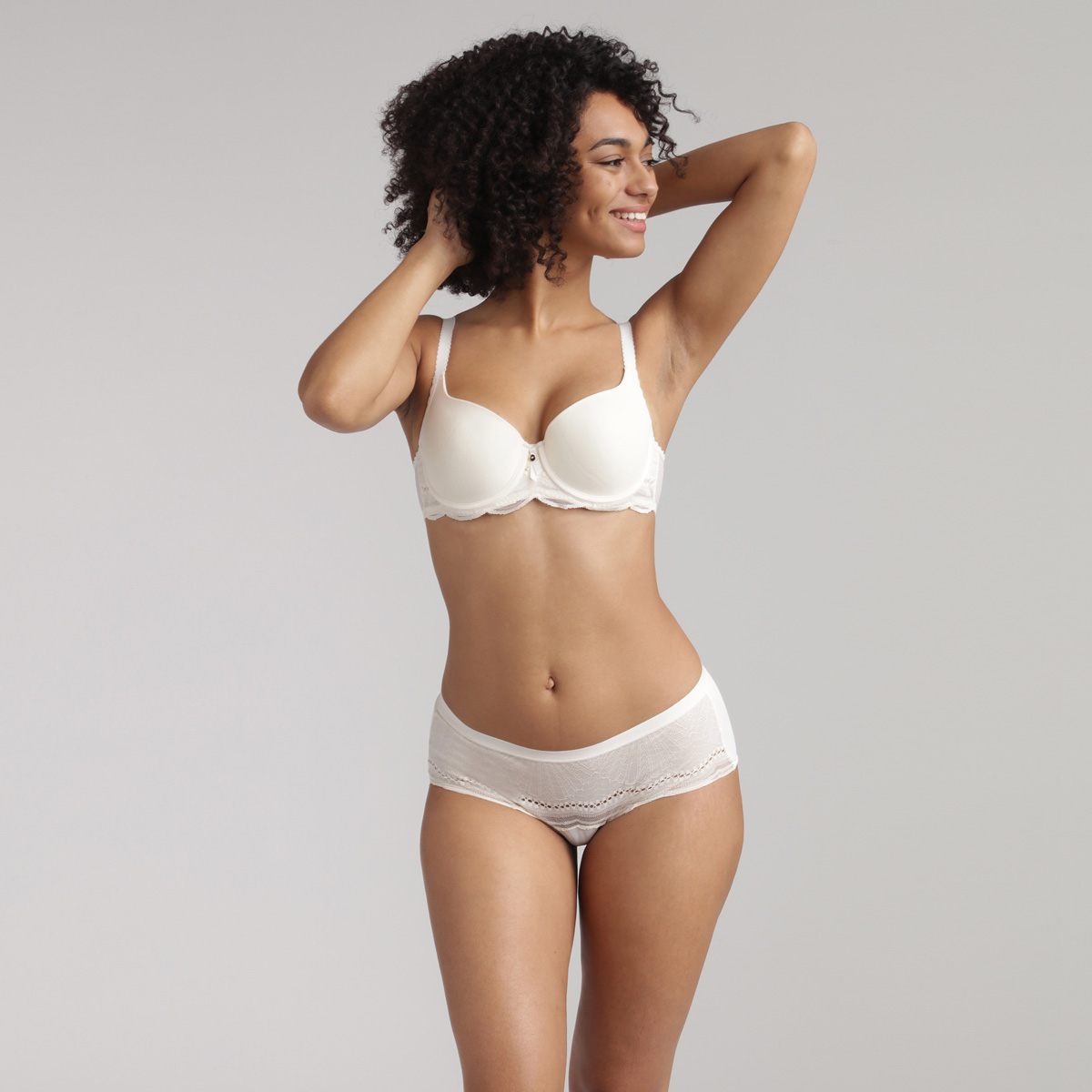 Midi knickers in antique white - Secret Comfort, , PLAYTEX