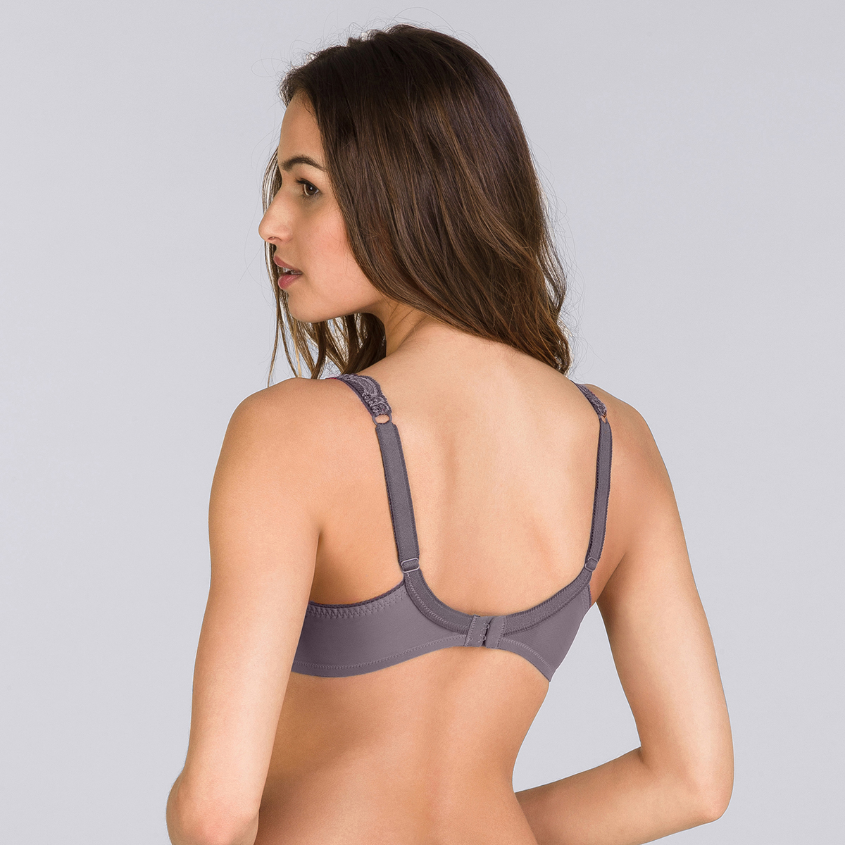 Balcony Bra in Grey – Invisible Elegance-PLAYTEX