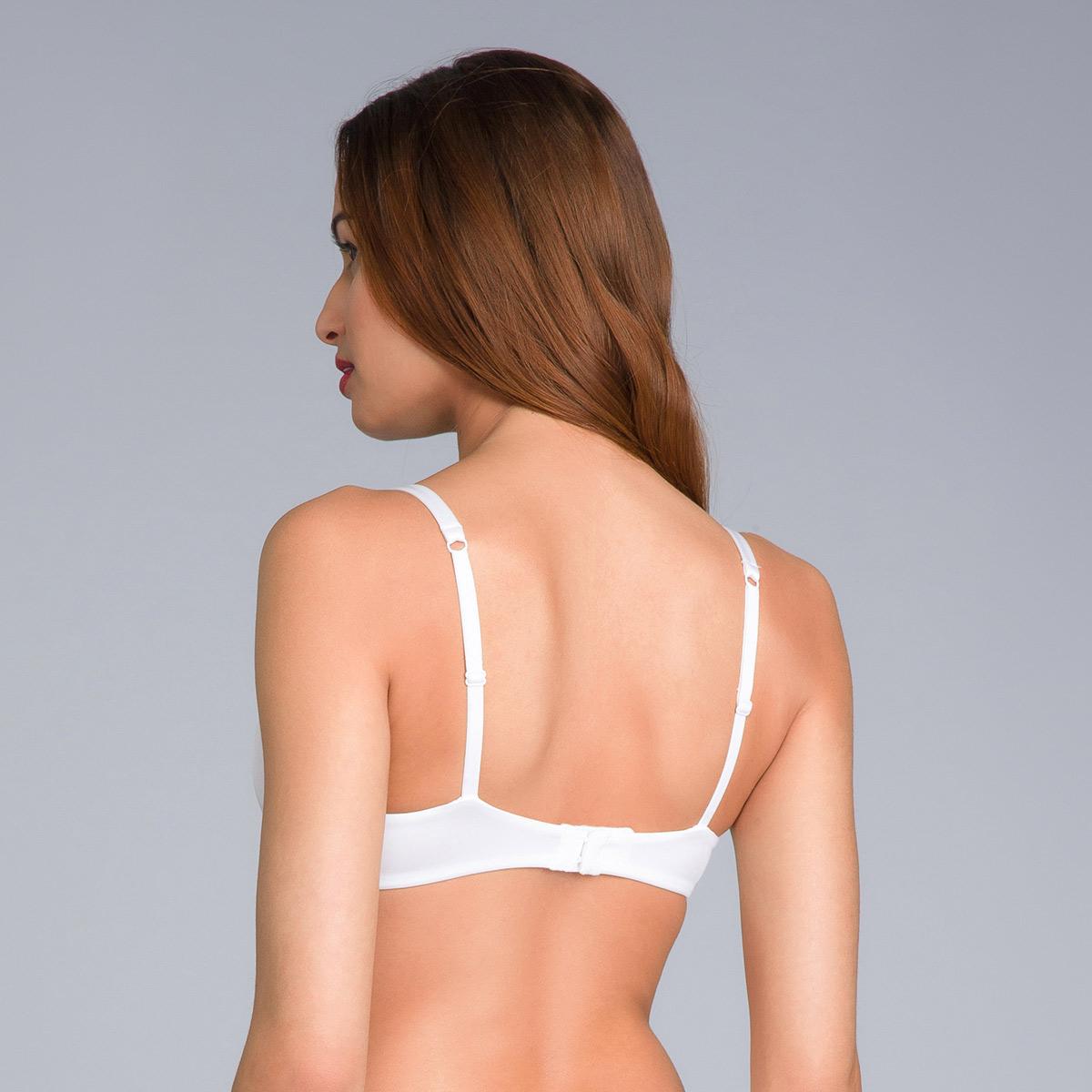 White Bra - amovible wires -  – 24H Soft Absolu-PLAYTEX