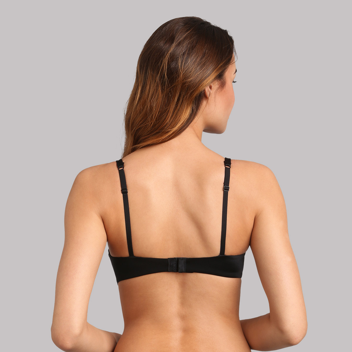 Full cup bra with removable underwires in black 24h Absolute Soft, , PLAYTEX