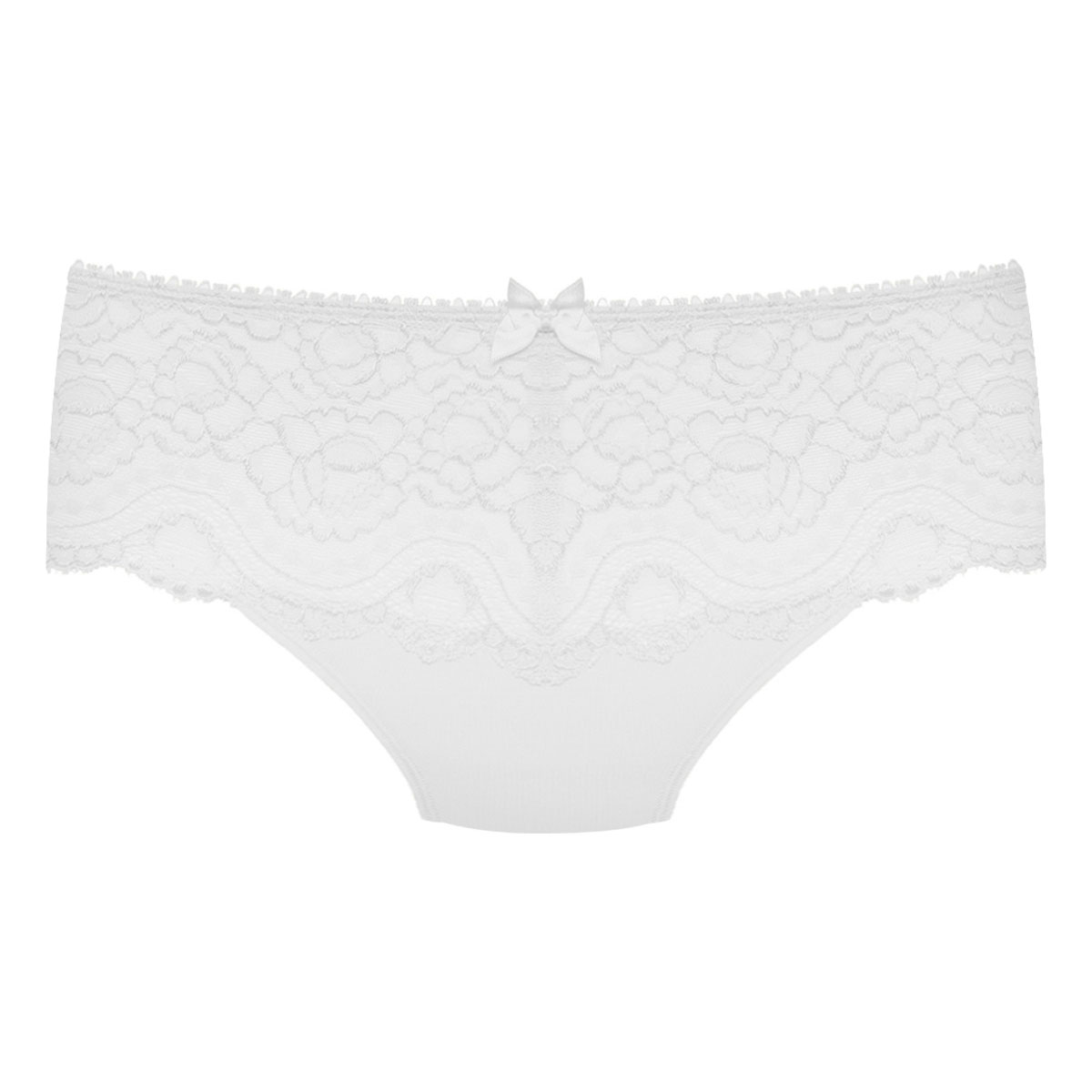 Midi knickers in white – Flower Elegance, , PLAYTEX