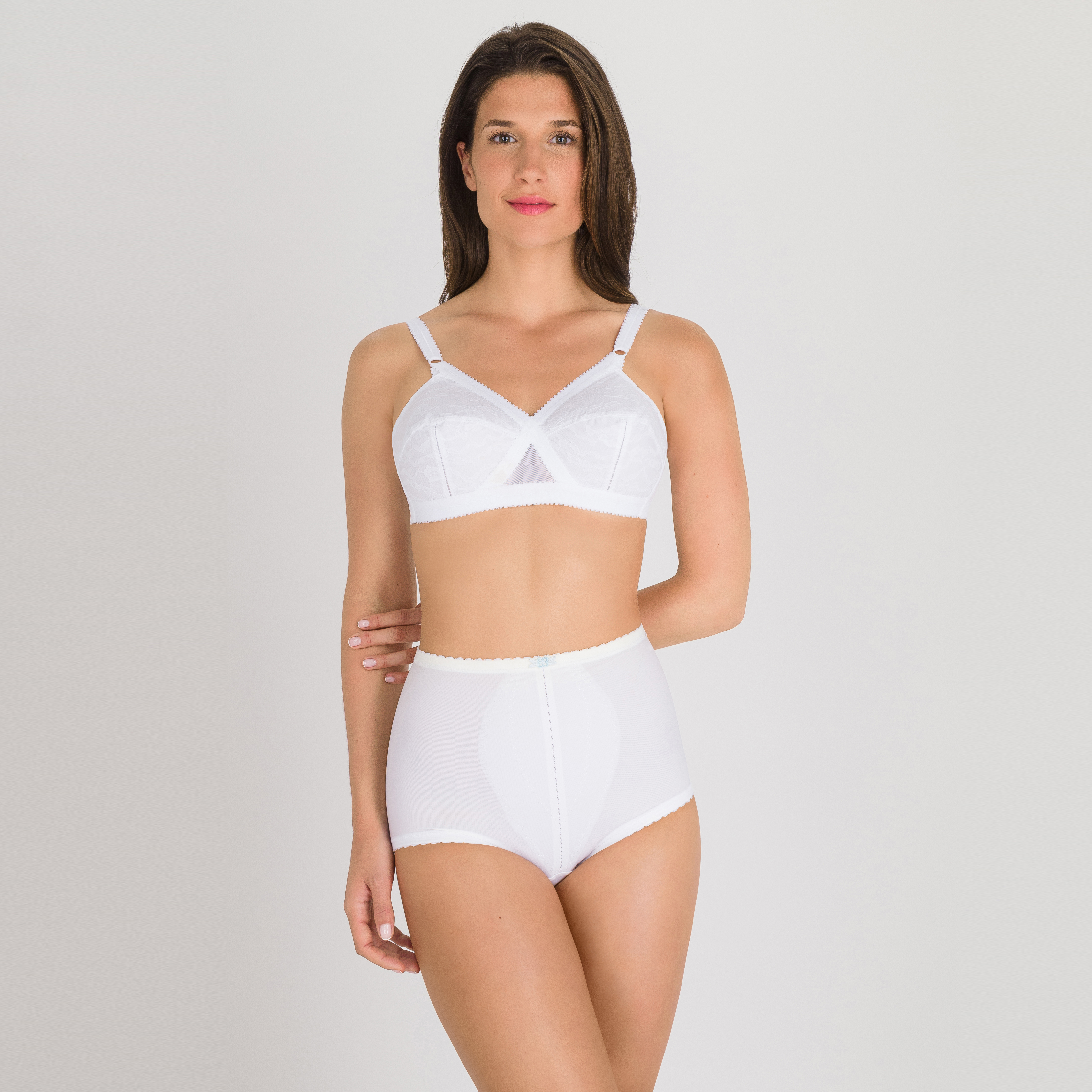 Control Briefs in White - ICBIAG, , PLAYTEX