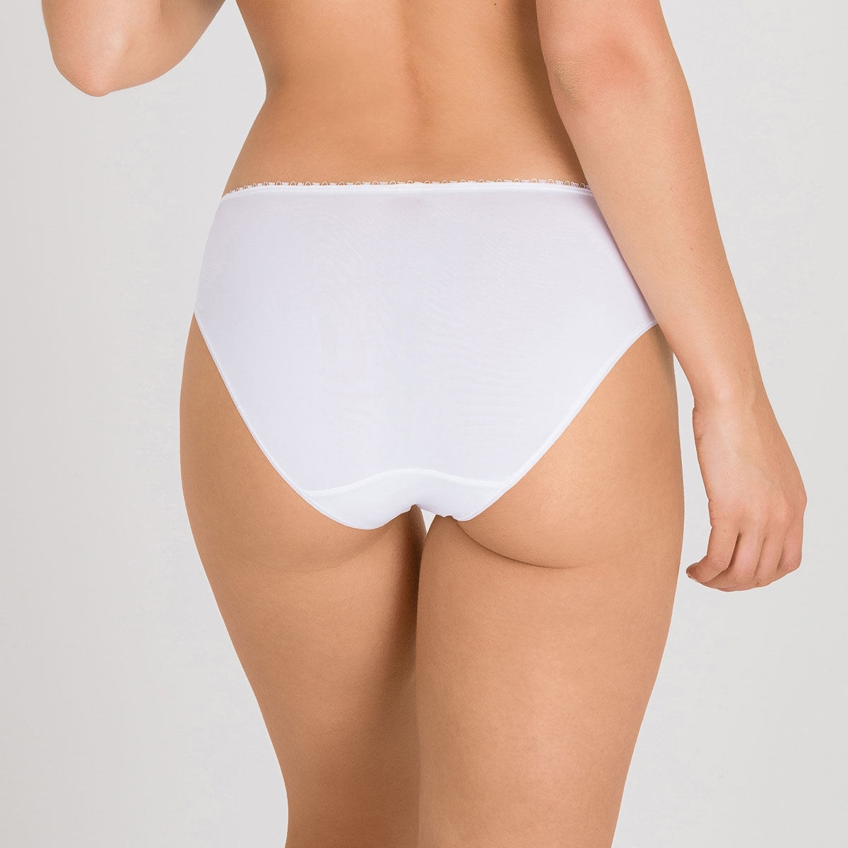 Mini knickers in white – Flower Elegance, , PLAYTEX