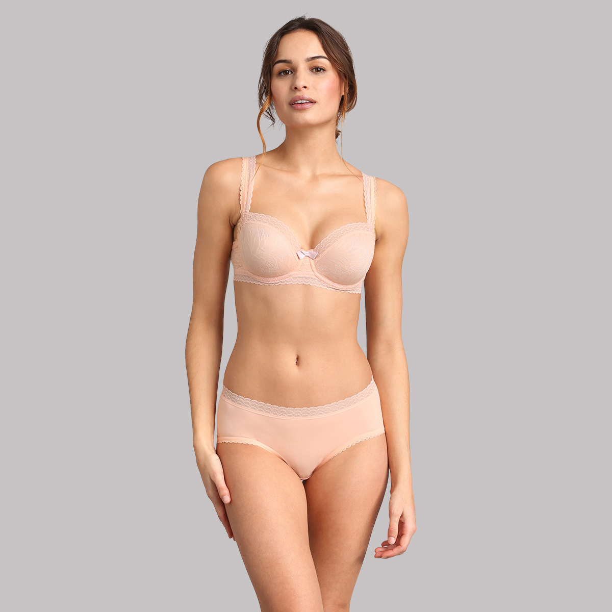Balcony bra in dusty pink - Invisible Elegance, , PLAYTEX