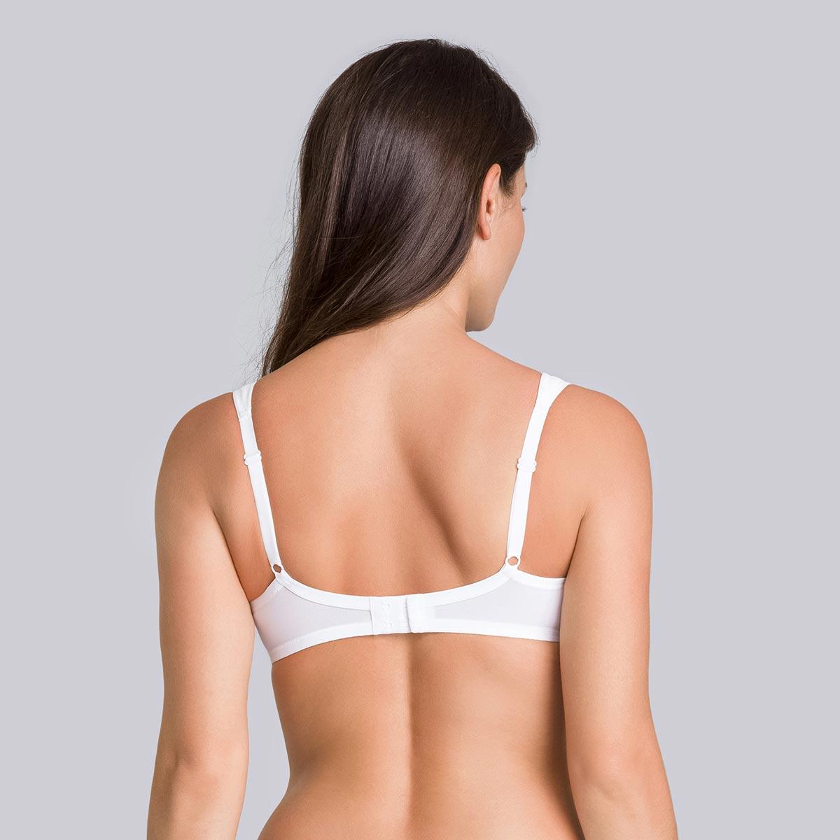 Minimiser bra in white - Expert in Silhouette, , PLAYTEX