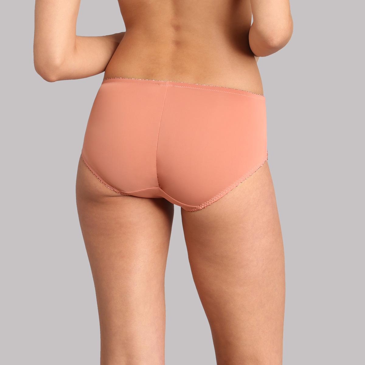 Midi knickers in terracotta - Classic Lace Support, , PLAYTEX