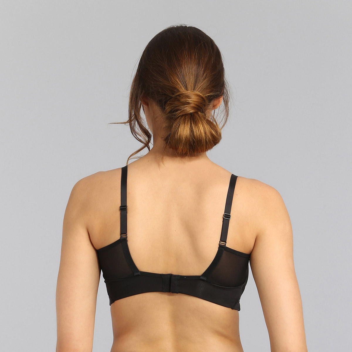 Non-wired bra in black Perfect Harmony, , PLAYTEX
