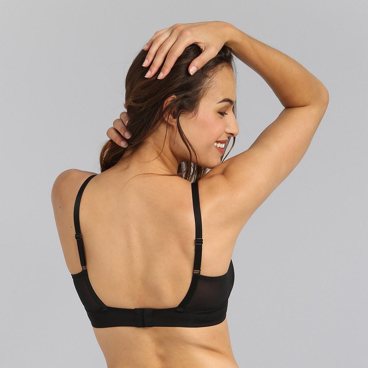 Underwired bra in black Perfect Harmony, , PLAYTEX