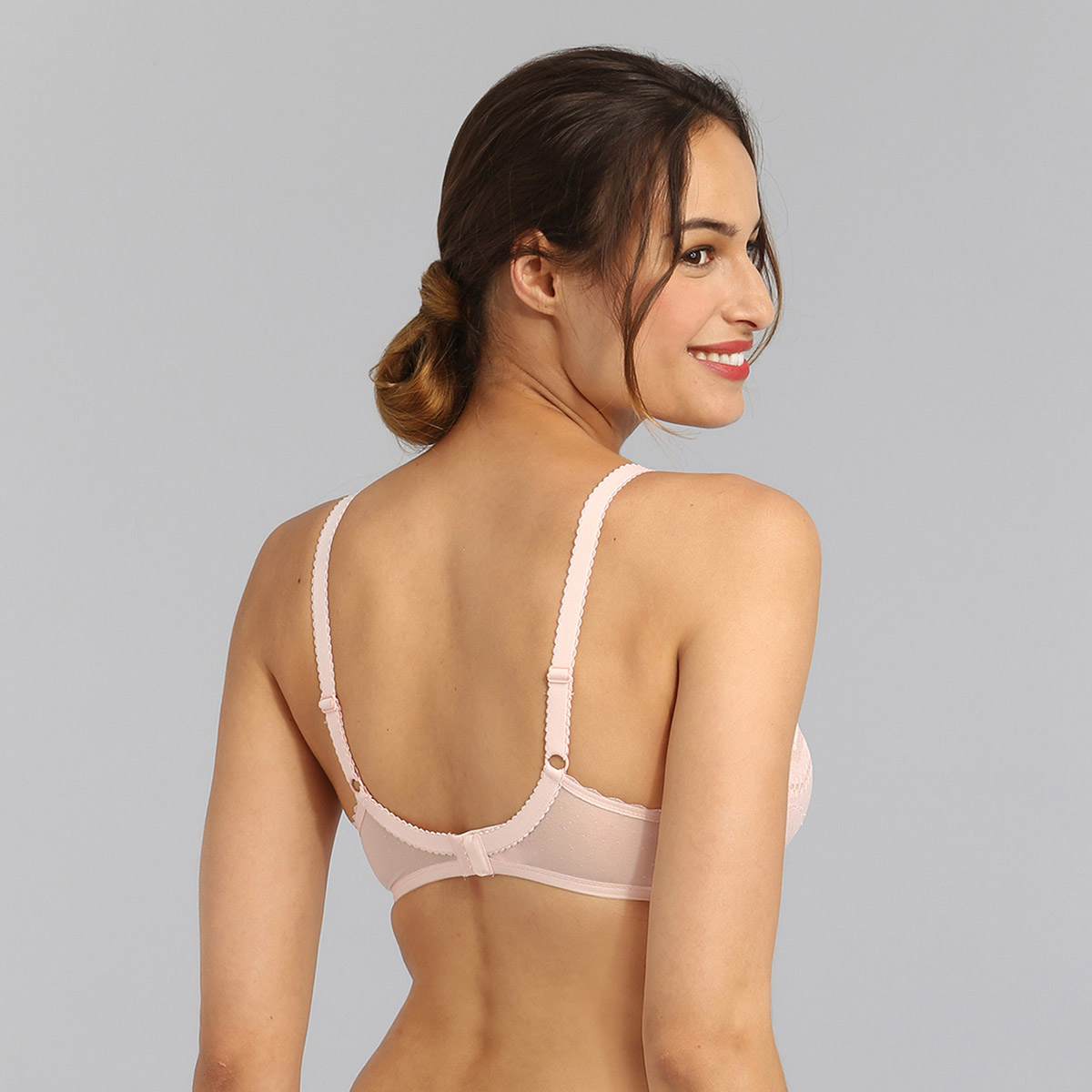 Underwired bra in peach Secret Comfort, , PLAYTEX