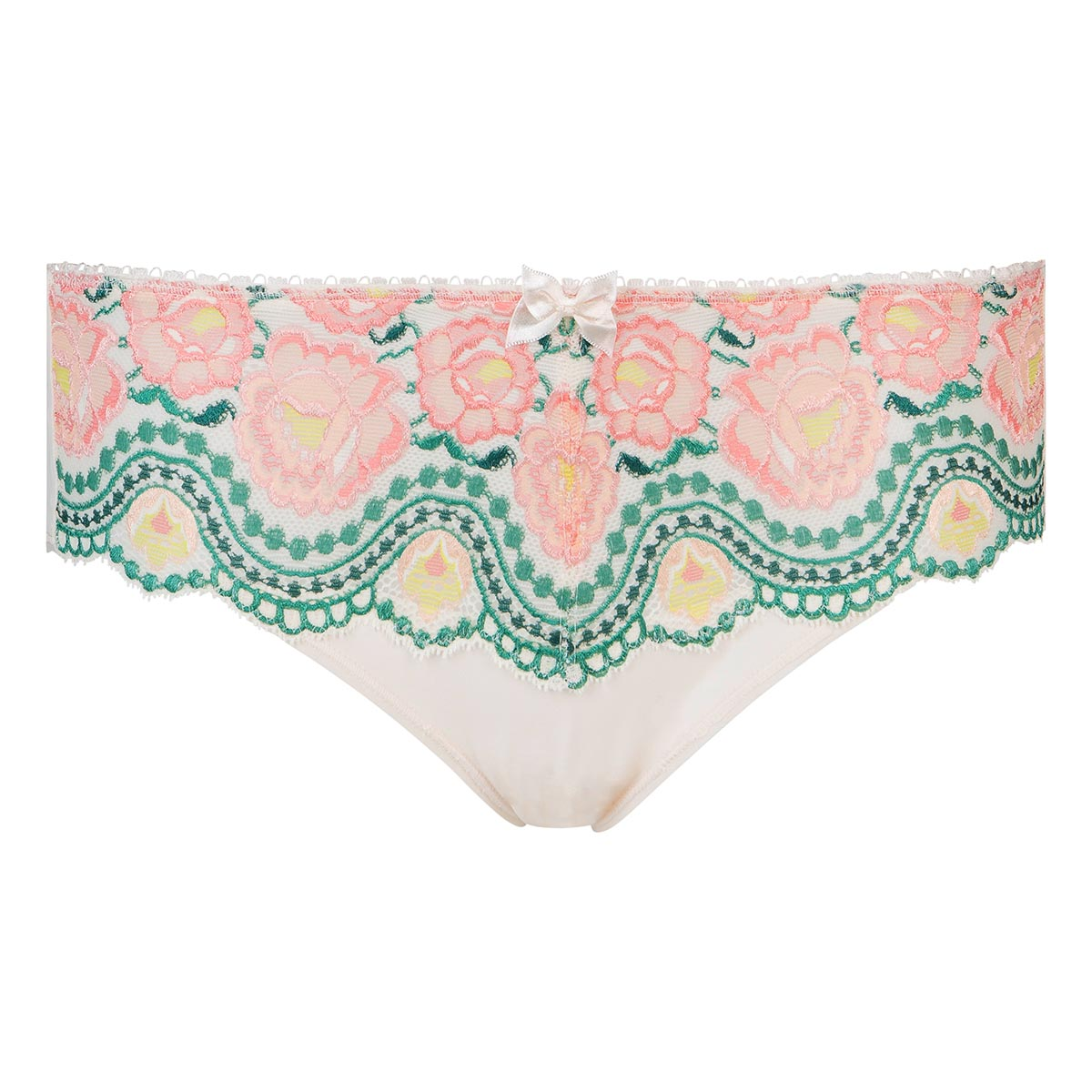 Midi knickers in printed floral lace - Flower Elegance, , PLAYTEX