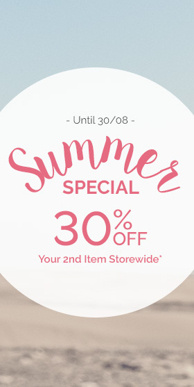 30% OFF your 2nd item sitewide at PLAYTEX