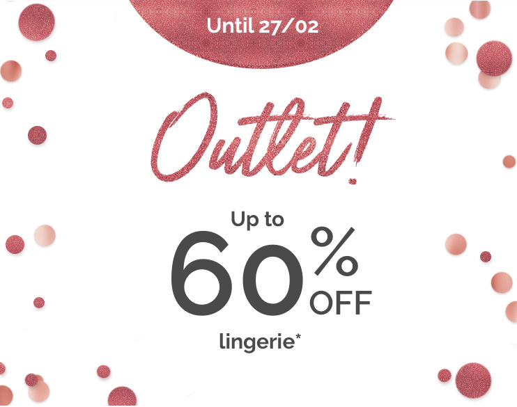 Outlet ! - Up to 60% off*