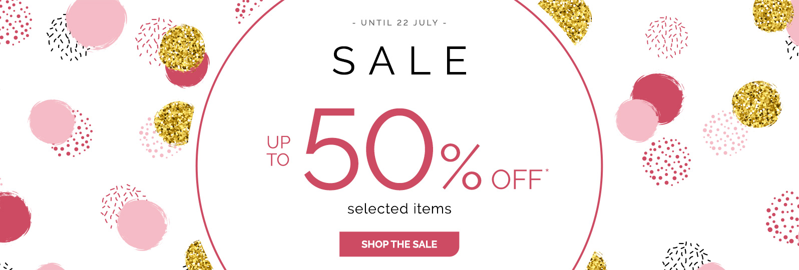 Sales - Up to 50%off* selected items