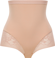 High-waisted girdle