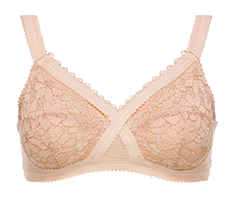 Non-wired full cup bra