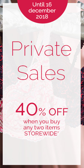 Private Sales 40% off when you buy any two items STOREWIDE