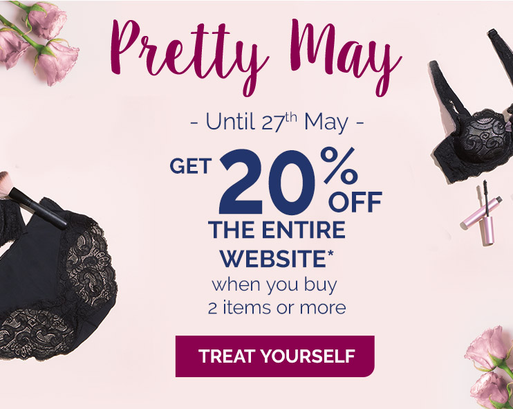 Pretty May, are you ready for summer ? Get 20% off the entire website when you buy 2 items or more*