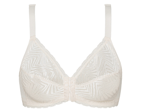 Non-Wired Bra with Front Closure