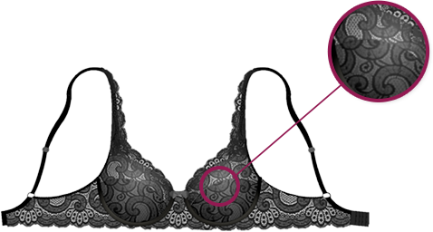 Playtex - INVISIBLE Elegance,soutien gorge en dentelle seconde-peau innovant !