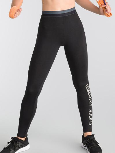 Active Wear leggings in black Shock Absorber